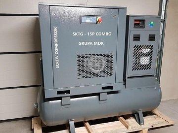 Kompresory śrubowe
