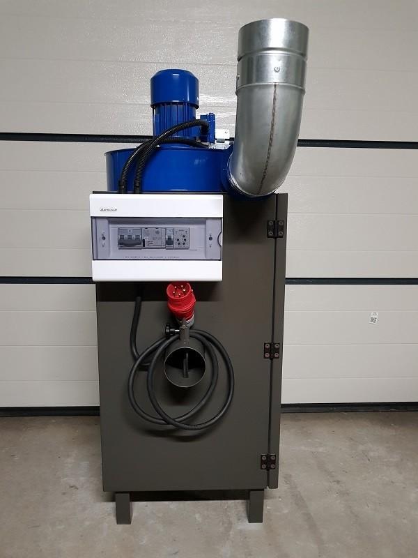 Podciśnieniowy zespół odpylający SO 100 5