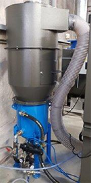 Cyklon MDK 600C - separator ścierniwa